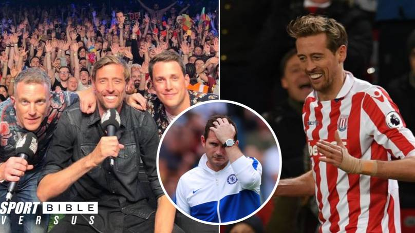 Peter Crouch Exclusive: I'd Take Steven Gerrard Over Frank Lampard, Crouchfest Over Glastonbury... And The Virgin Quote Is True