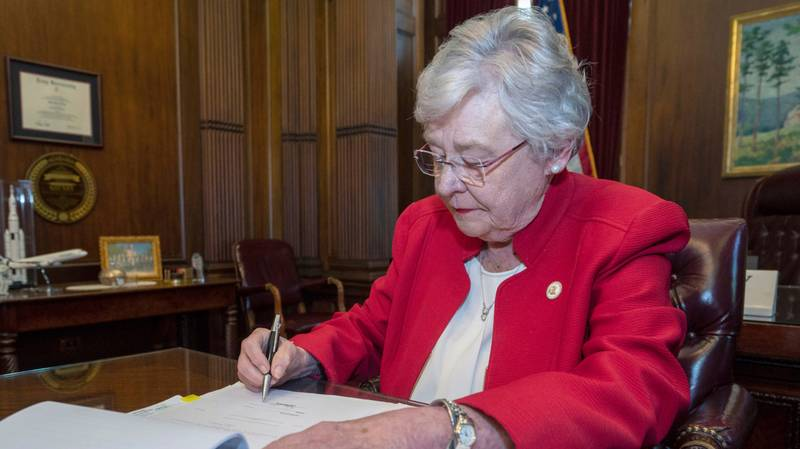 Alabama Governor Signs America's Strictest Ban On Abortion