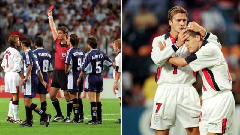 Michael Owen Reveals He Still Resents David Beckham For 1998 Sending Off