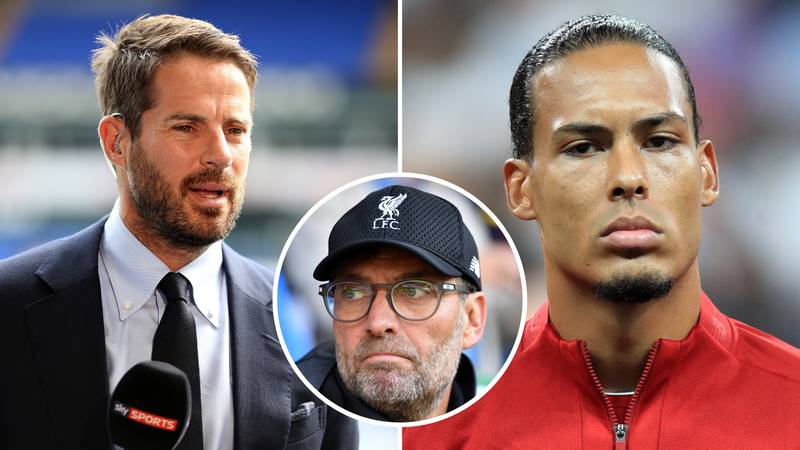 Liverpool Without Virgil Van Dijk Would 'Just About Scrape Top Four,' Says Jamie Redknapp