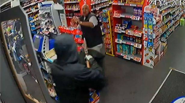 Shopkeeper Chases Off 'Shotgun' Wielding Robber With Just A Magazine