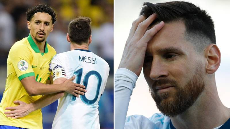 Marquinhos Says Lionel Messi Never Complains When Things Happen In Favour Of Him In Barcelona
