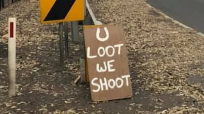 Aussie Town Issues Ominous Warning To Looters After Bushfire Ravaged Area
