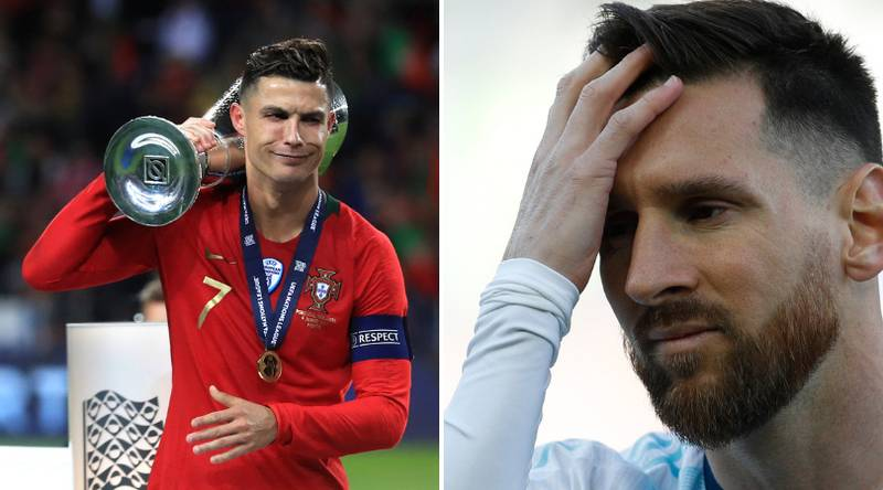 Portugal Have Won Both Trophies With Cristiano Ronaldo, Lionel Messi Has Won None Of Argentina's 17