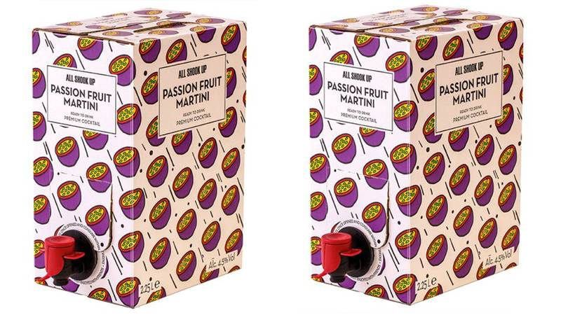 Tesco Is Selling Two-Litre Boxes Of Passion Fruit Martini For £12