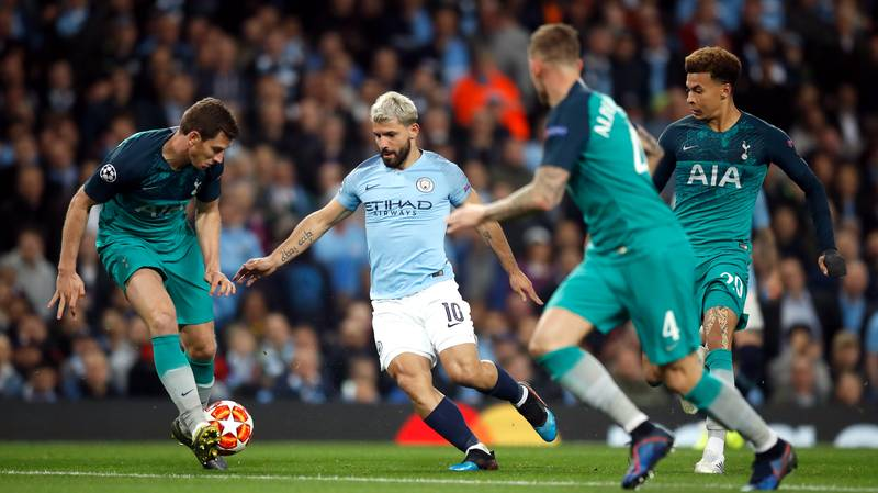 Man City Vs Spurs Team News: Sergio Aguero In Contention To Return, Dele Alli And Ryan Sessegnon Out