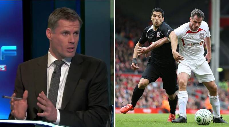 Jamie Carragher Slams Luis Suarez For Costing Liverpool The Premier League Title