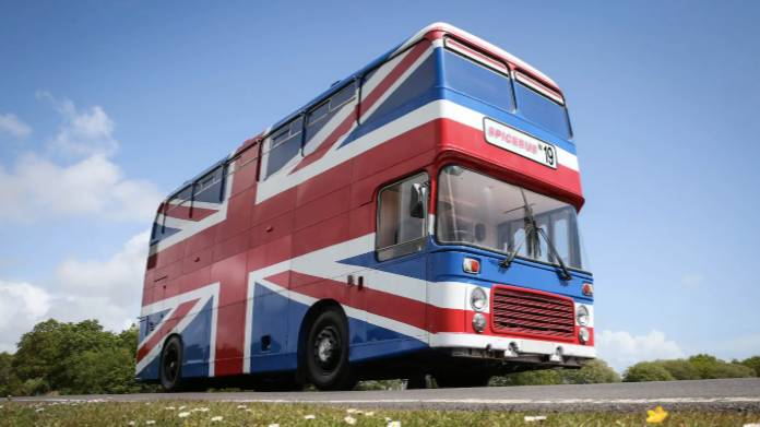 The Original Spice Girls Bus Has Been Turned Into An Airbnb