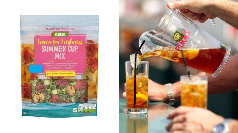 ​Asda Is Now Selling Frozen Pimm's Mix And It's A Bargain