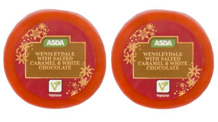 ​ASDA Is Selling White Chocolate And Salted Caramel Cheese
