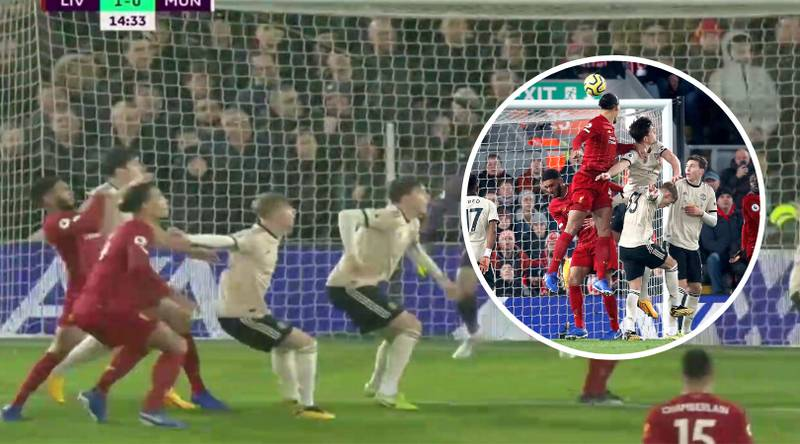 Fans Can't Understand Why Brandon Williams Marked Virgil Van Dijk For Liverpool's Opening Goal