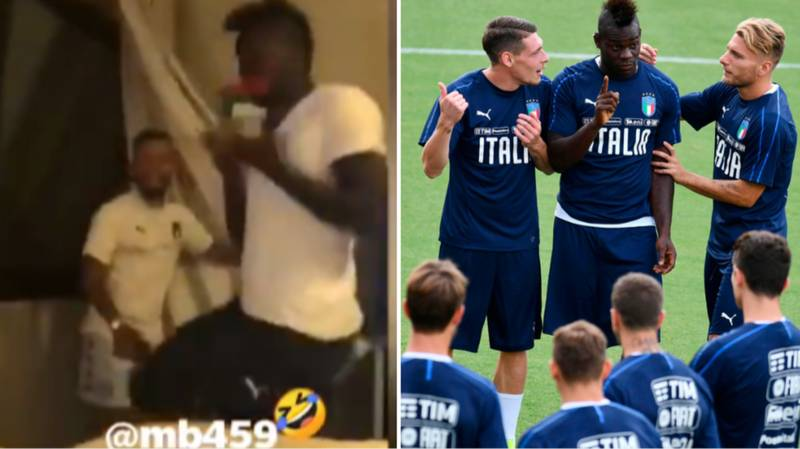Lorenzo Insigne Scares The Sh*t Out Of Mario Balotelli