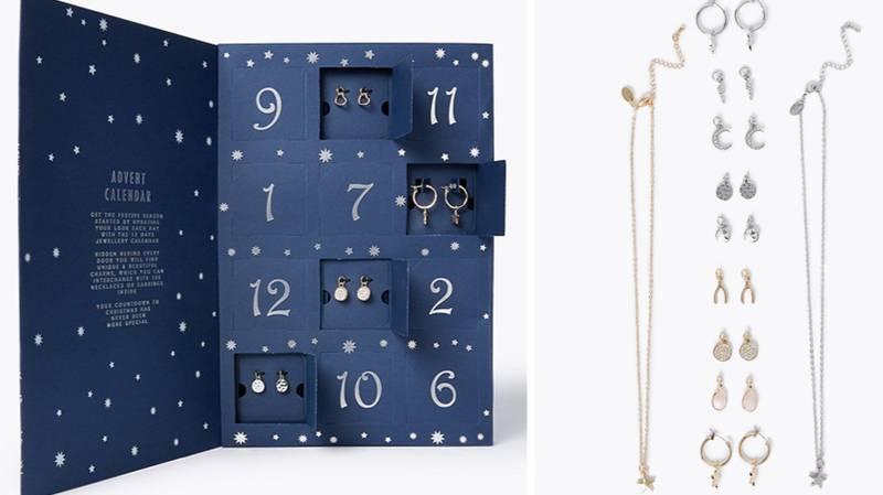 M&S Is Selling A Jewellery Advent Calendar And It's Full Of Gorgeous Pieces