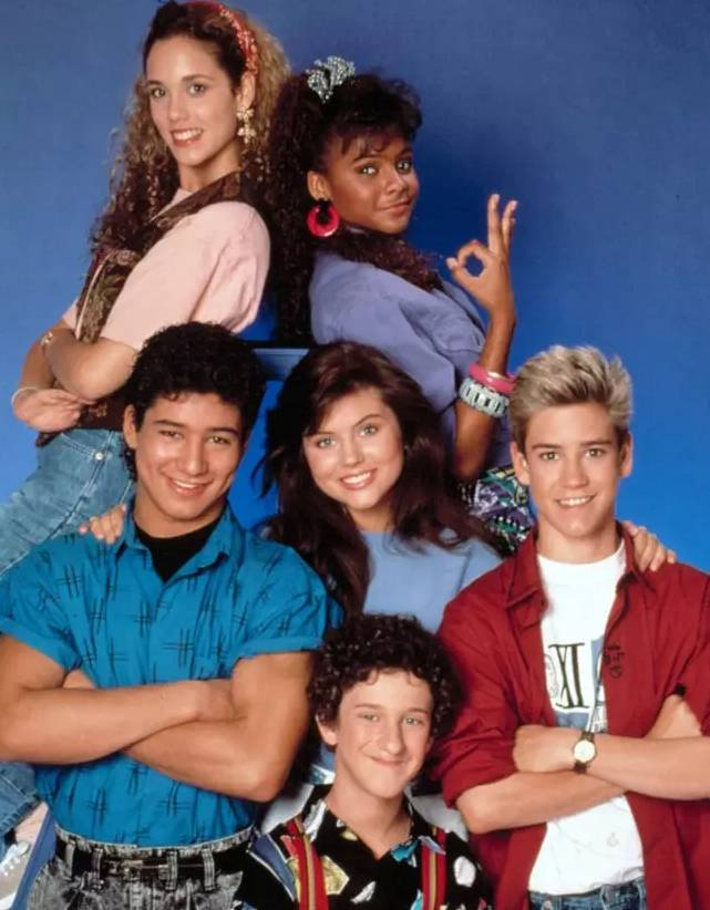 The original gang. Credit: Saved By The Bell
