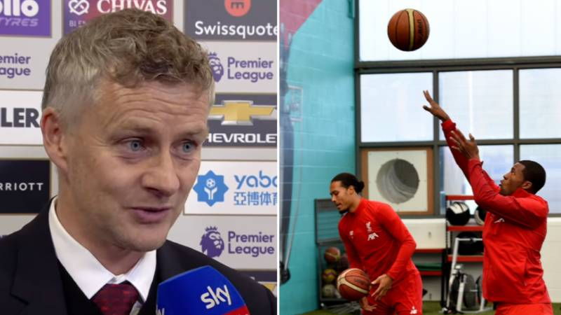 Ole Gunnar Solskjaer Aims Dig At Liverpool For Playing Basketball In The Week