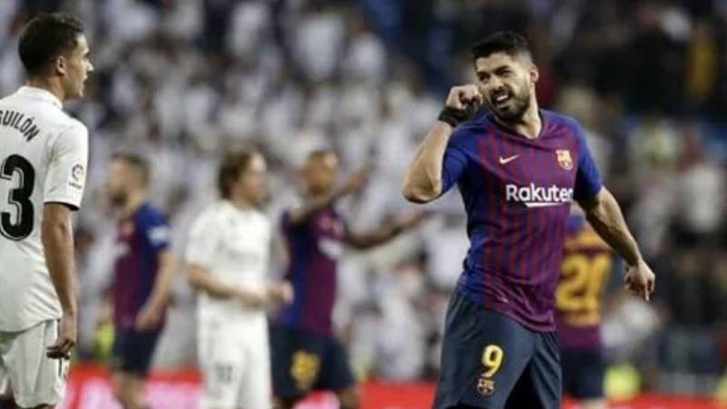 Luis Suárez Mocks Sergio Reguilón For Crying After Defeat In El Clásico