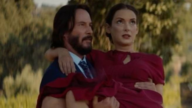 'Destination Wedding' Just Dropped With Keanu Reeves And Winona Ryder And It's Cheesy AF