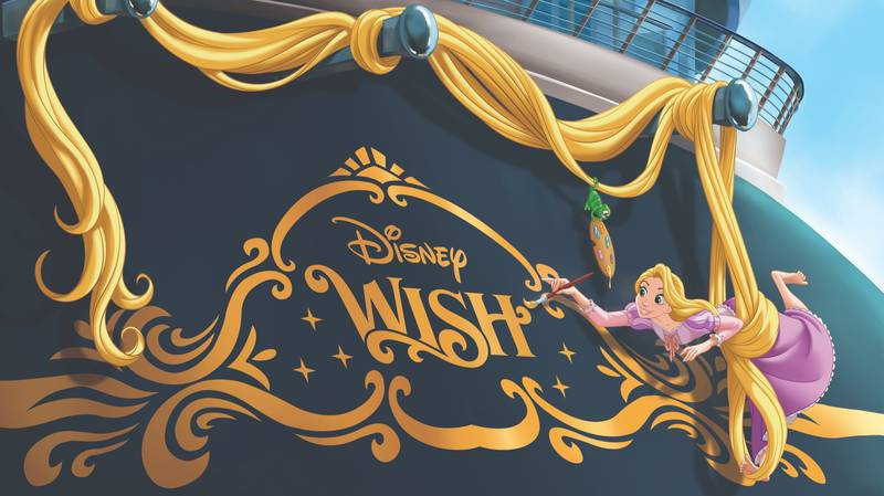 Disney Shares First Look At Its Brand New Cruise Ship