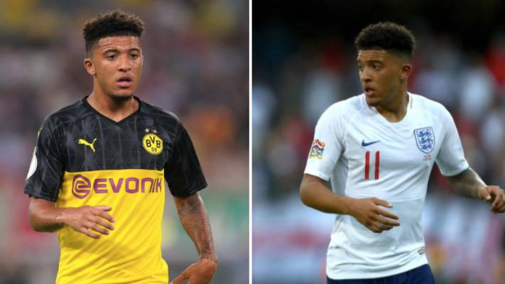 Jadon Sancho 'Dropped' By Dortmund After Returning Late From England Duty