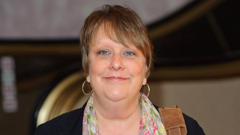 Kathy Burke Campaigns For Linda La Hughes To Be Next Prime Minister