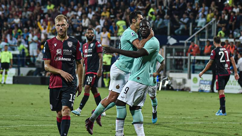 Serie A Confirm Cagliari Will Not Face Punishment For The Racist Chanting Aimed At Romelu Lukaku