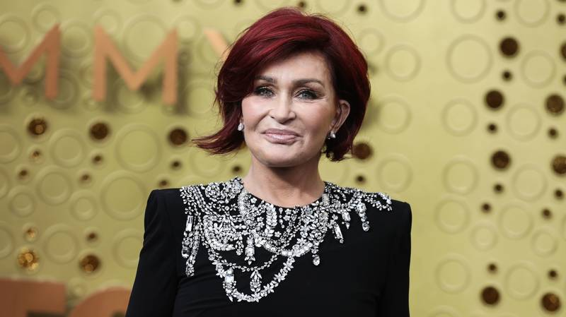 Sharon Osbourne Has Dyed Her Hair '100 Per Cent White'