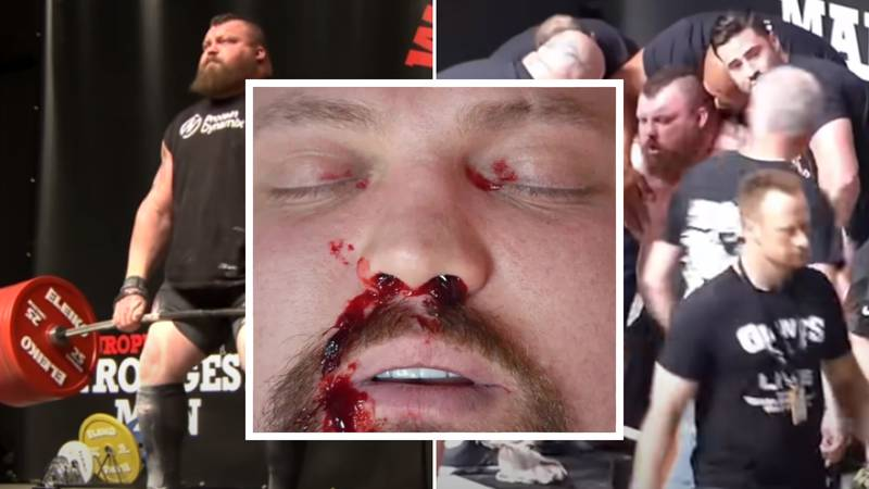Eddie Hall Discusses The Terrifying Moment He Thought He Was Dying After World Record 500kg Deadlift